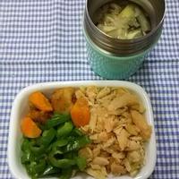 材料三つでお弁当に緑を:ピーマンのレモン醤油照り…レシピブログアワード