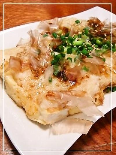 豆腐ステーキ&豚の生姜焼き
