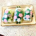 桜🌸を閉じ込めた 春に食べたい生春巻き