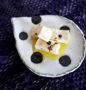 ◇豆腐のオリーブオイル漬け(レシピあり)◇