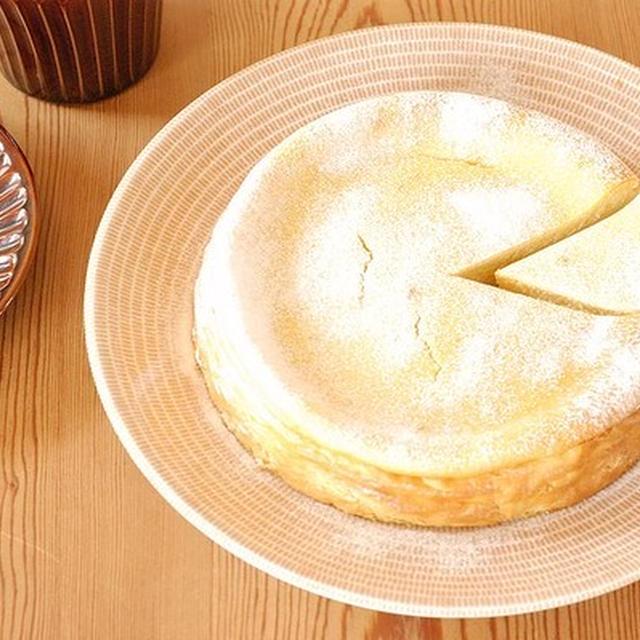 市販の焼き芋で簡単♪混ぜて焼くだけスイートポテト生チーズケーキ
