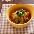 青梗菜のナムル