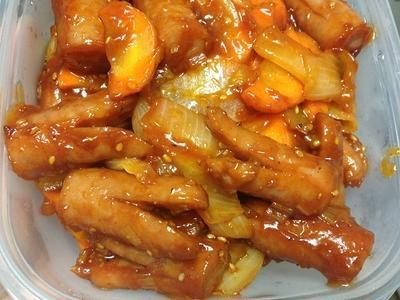 韓国のソーセージのスンデ。辛いレシピで密かな人 …