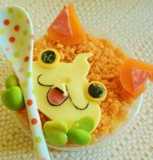 運動会に!簡単ジバニャンカップ寿司レシピ