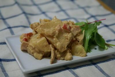 豆腐のピリ辛ディップ