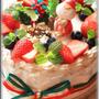 クリスマス間近!簡単クリスマスケーキ☆彡