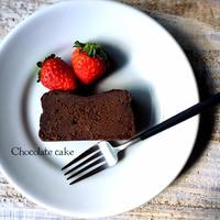 生チョコケーキをお供に♫