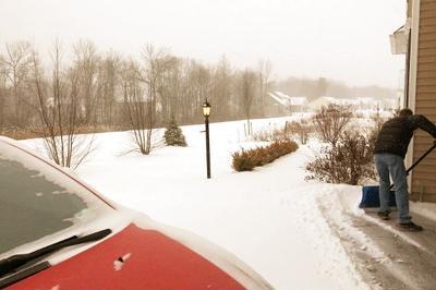 チキンストックで作る年越しソバとクレイジーな冬の行事