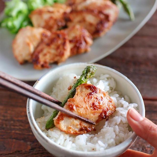 安いからついつい買っちゃう鶏むね。今日は味噌マヨ仕立て。家ごはんをたのしもう^^