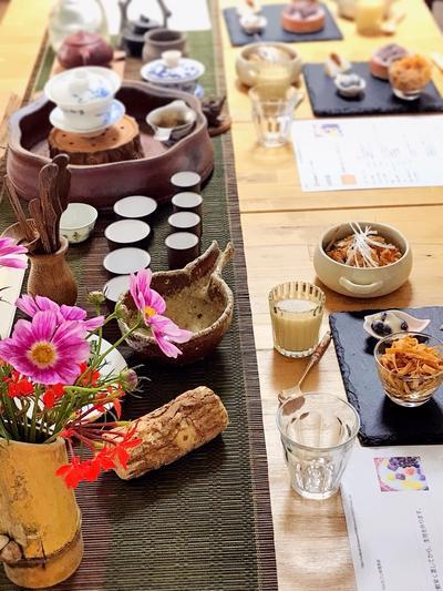 5月の中国茶会