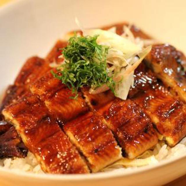■鰻のさっぱり酢飯丼■