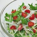 ちょっと便利な冷蔵庫&水菜と大根のサラダ♪ by ei-recipeさん