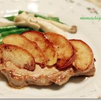 アップルパイのような「りんごのポークソテー」♪*レシピ