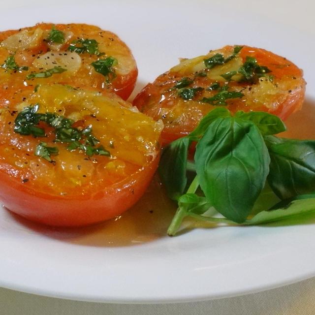 アンチエイジングなトマトステーキ