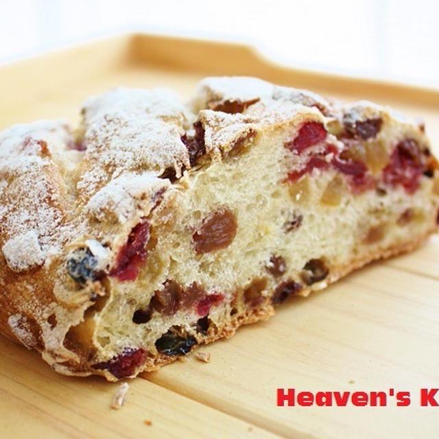 ぎっしり実の入ったパン。