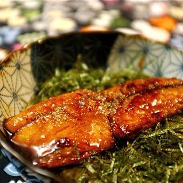 鯖の蒲焼き。