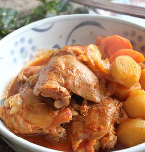 タットリタン(韓国鶏じゃが)♪