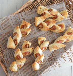 食パンで簡単!ベーコンエピ風 ハムロールサンド