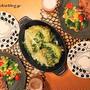 『チキン竜田ステーキ』とストウブで『キャベツステーキ』な夜。