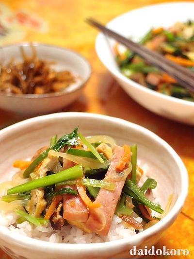 小松菜と油揚げでカルシウム不足解消!知って得する32のレシピ