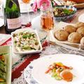 クリスマスパーティー①作り置き系おつまみ、テーブルコーディネート
