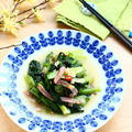 中華の定番 * シャキシャキ青菜の塩炒め