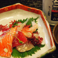 海鮮塩麹和え