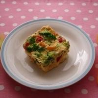 レシピブログ連載☆離乳食レシピ☆「牛乳パックで作る簡単キッシュ」更新のお知らせ♪