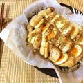 お帰り最強タッグ。鶏胸卵の柚子胡椒マヨペッパーオーブン(糖質3.7g) by ねこやましゅんさん