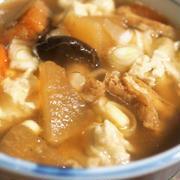 ■【けんちん蕎麦搔】寒い日はこんなのが食べたい!!