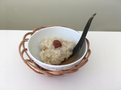 シンプル玄米粥