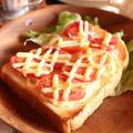 トマトとチーズさえあれば<トママヨチーズトースト>