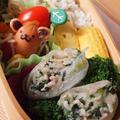 豚肉と小松菜の塩糀炒め~生春巻き~