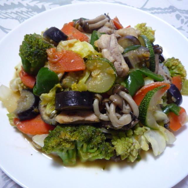 421 : お野菜の生姜味噌炒め