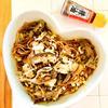 キノコと薬味たっぷりの辣油蕎麦