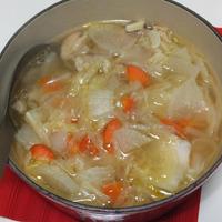 鶏肉の塩風味鍋