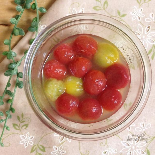 ミニトマトのハニージンジャー漬け