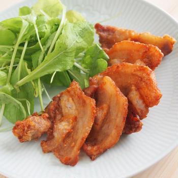 豚バラ肉のスパイシー竜田