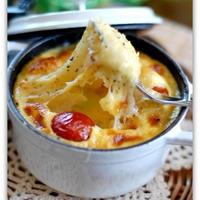 【コンテ】チーズたっぷり野菜のココット