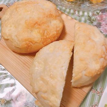 【HBでお家パン】意外な美味さ!梅マヨチーズブレッド