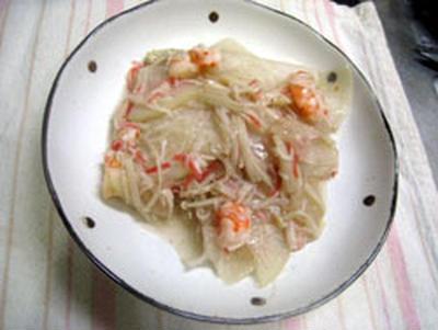 大根の海鮮風?炒め煮