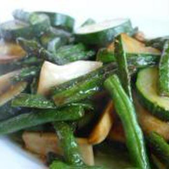 夏野菜の炒め物