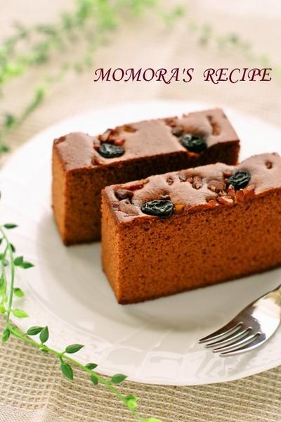 ホットケーキミックスHMと炊飯器で簡単お菓子♪ふわふわチョコカステラケーキ