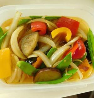 常備菜に・・・カラフル野菜のさっぱり焼きびたし☆