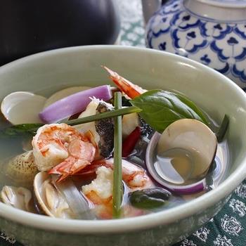 タイ風すっきり海鮮スープ  〜レシピあり〜
