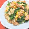豚肉とレタスのねぎ塩炒飯