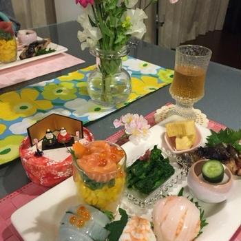 お料理教室第5回 ひな祭り〜