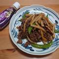 牛肉と筍の禁断の黒胡椒炒め by masaさん