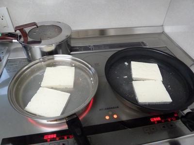 カレー豆腐ステーキ♪