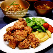 鶏のから揚げの晩ご飯/入院中の家族のごはんをどうするか